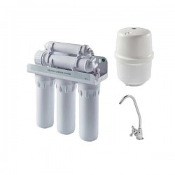 Monarch Capricorn Reverse Osmosis Water Purifier Filter & Assisi Tap Kit Chrome