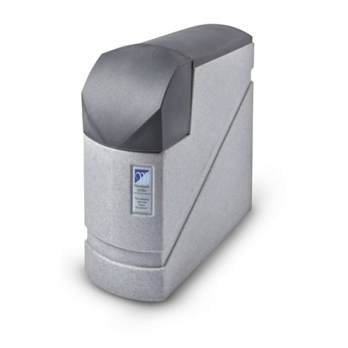 Monarch PlumbSoft Solo Ultra Non Electric Compact Water Softener-Twin Tank - Free PSK KIT