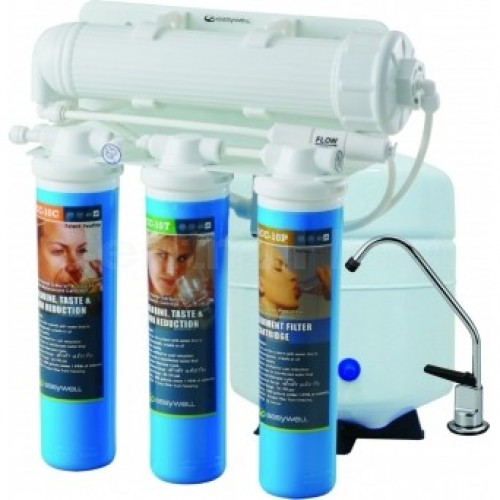 Ultimate Reverse Osmosis Water Filter System - Quick Change - 4 Stage